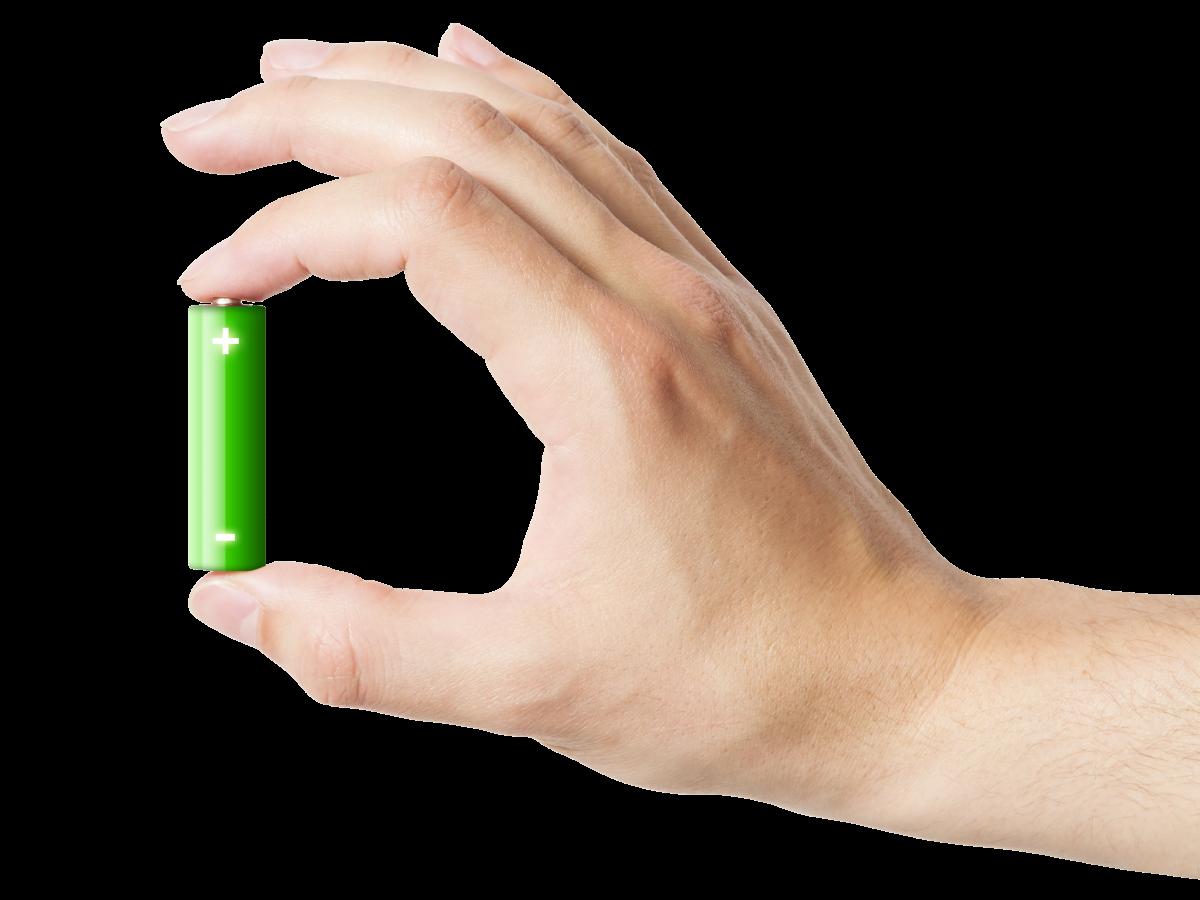 battery-hand
